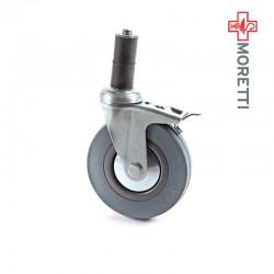 MPR050 - Kit 4 roti cu frana Ø 12,5 cm