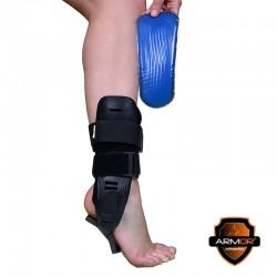 Glezniera cu suport plastic pentru imobilizare glezna cu gel - ARA103
