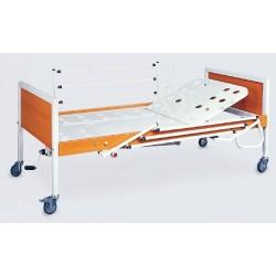 Pat de spital mecanic cu 1 manivela - Simple 5