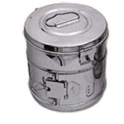 Casoleta sterilizare - 390Øx340mm AL01
