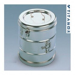 Casoleta sterilizare - 125Øx100mm MTX002