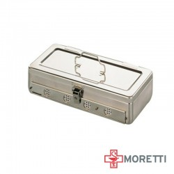 Cutie sterilizare - 30x15x9 cm cu orificii laterale si sistem de inchidere MTX121