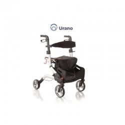 RP535 URANO - Rolator din aluminiu vopsit cu 4 roti