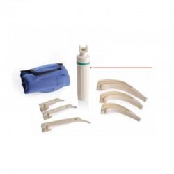 Kit complet Laringoscop maner reutilizabil, lama de unica folosinta RA550