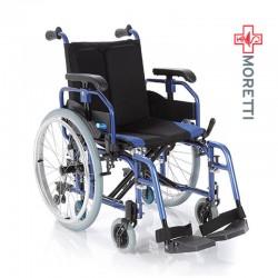 Carucior transport pacienti aluminiu, antrenare manuala, 135 Kg - MCP760 Helios 2
