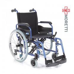 Carucior transport pacienti aluminiu, antrenare manuala, 135 Kg - MCP750 Helios 1