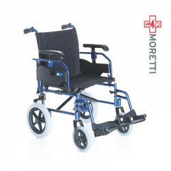 Carucior transport pacienti din aluminiu, model tranzit, 100 Kg - MCP735 Helios Go