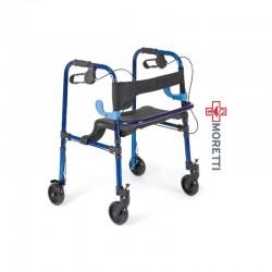 MRP751 - Cadru de mers 4 roti mobile si scaun