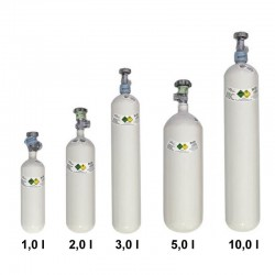 Butelie oxigen Luxfer din aluminiu de 1L, 2L, 3L, 5L, 10L