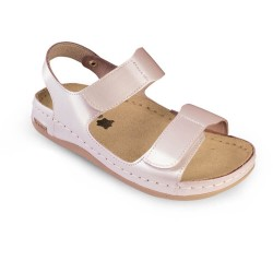 Sandale dama, de vara, din piele, Leon 803