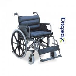 Carucior transport pacienti sezut extralarg - 125 kg - FS951B-51/56